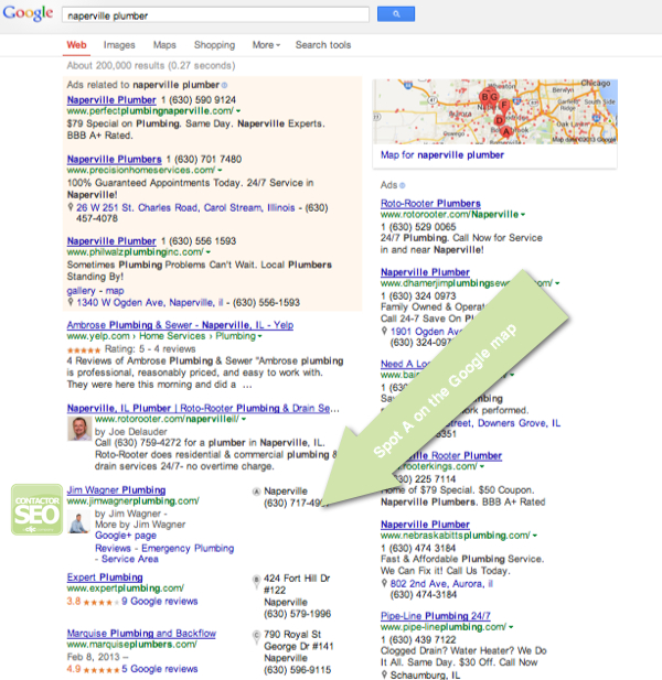 Contractor SEO Case Study - Naperville Plumber