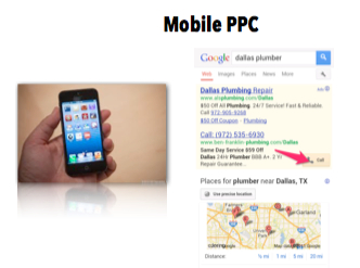 Example of Mobile PPC - Click to call